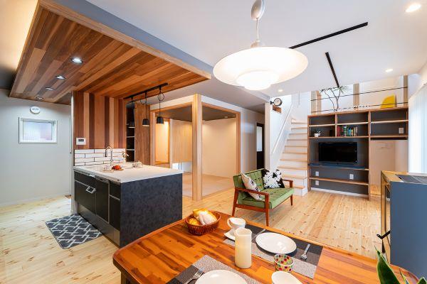 スキップフロアを愉しむお家 | ココチエ一級建築士事務所