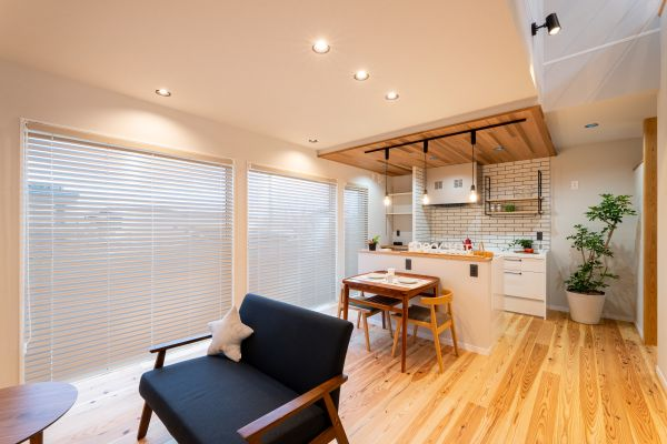 コンパクトで自然エネルギーを取り込むパッシブデザインのお家 | ココチエ一級建築士事務所