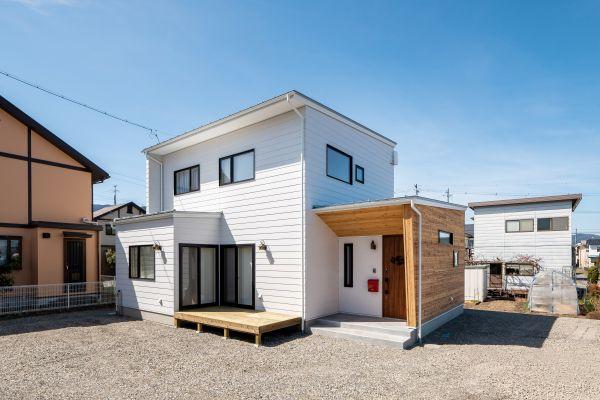 レッドシダーがアクセントのナチュラルモダンで高性能ZEH認定のお家 | ココチエ一級建築士事務所