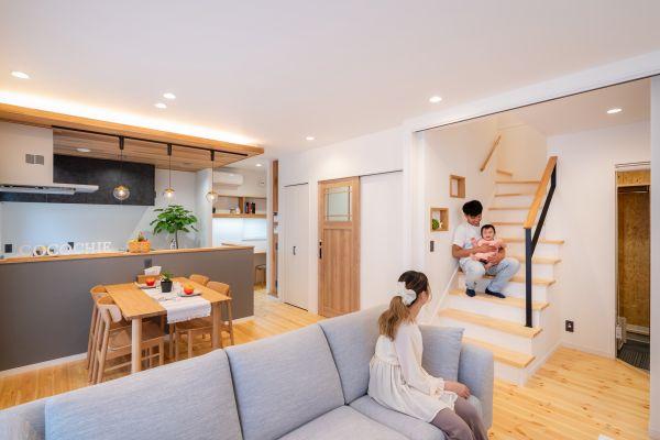 ちょうどいいミニマムな暮らしを楽しむお家 | ココチエ一級建築士事務所
